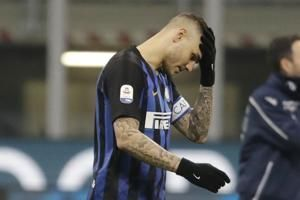 Inter drops Icardi as captain, Icardi pulls out of match