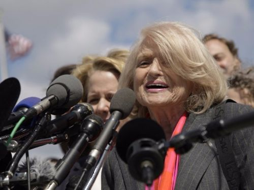 Edith Windsor, the woman who paved the way for same-sex marriage rights in the US, dead at 88