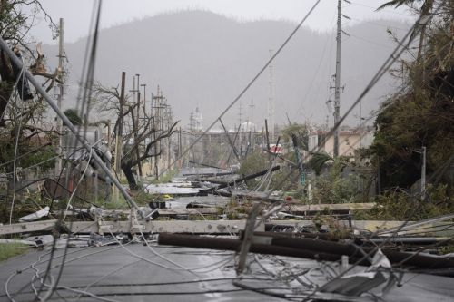 Puerto Rico facing weeks without power after Maria