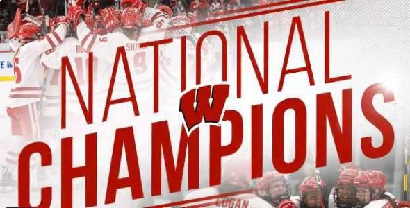 Wisconsin Badgers women's hockey team wins national title