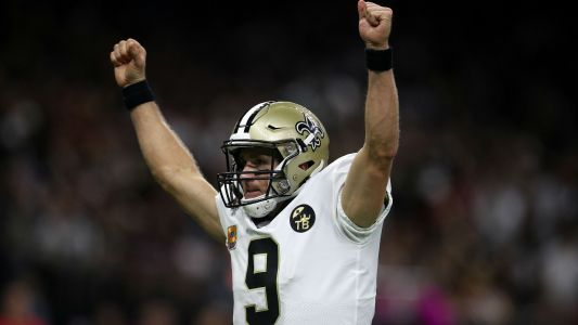 Saints QB Drew Brees reaches another historic milestone