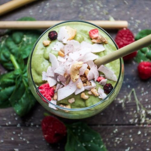 The green super smoothie