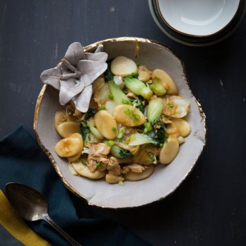Stir-fried Nian Gao Rice Cakes