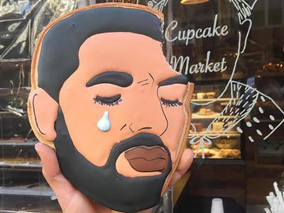 Send a Sad Drake Cookie to Someone You Love