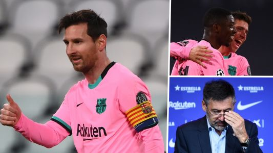 Lionel Messi, Barcelona's young guns make perfect start to post-Bartomeu era