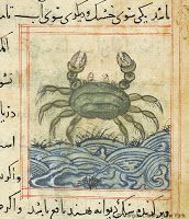 Medieval crab recipes and 1723 recipes for crab with dates, ginger, pistachios