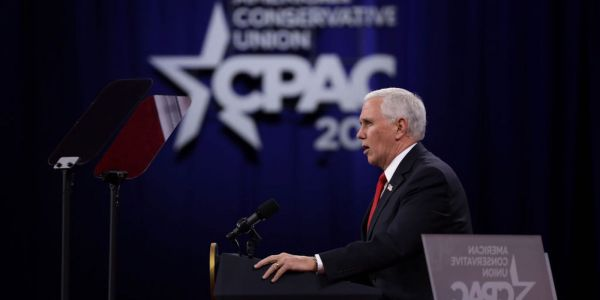 Mike Pence declined an invitation to CPAC, where Trump is the headline guest and the MAGA crowd has taken over
