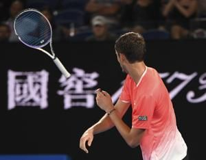 Tennis players can cause quite a racket by smashing rackets