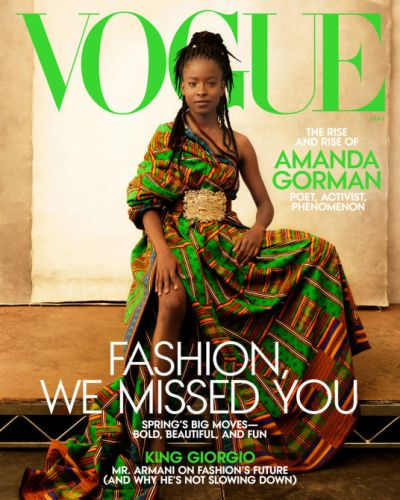 Amanda Gorman's 'Vogue' Cover Is The Best Thing To Happen In 2021