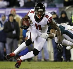 AP source: Falcons won't offer WR Jones new deal this year