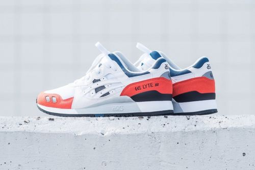 ASICS Combines Orange & Blue Accents on Its Latest GEL-Lyte III