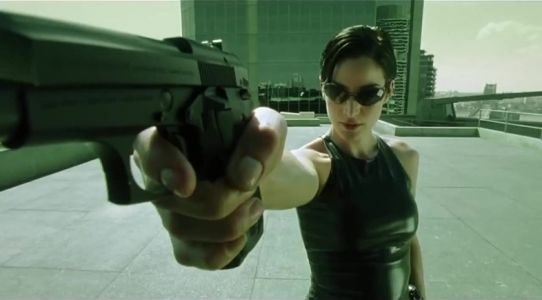 Why the fashion of The Matrix feels really relevant right now