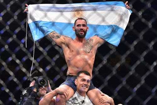 Santiago Ponzinibbio accuses Tyron Woodley of ducking him - but that's not all
