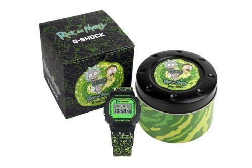 G-SHOCK Teams Up With 'Rick and Morty' for a Limited-Edition Watch