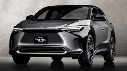 It's Time To Get Used To Seeing The Toyota BZ4X Concept
