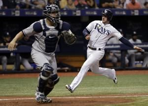 6 pitchers combine on 5-hitter, Rays beat Yankees 2-1