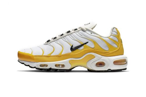 Nike's Air Max Plus SE Gets a Vibrant Mix of White and Yellow