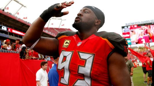 Buccaneers release Gerald McCoy after 9 seasons