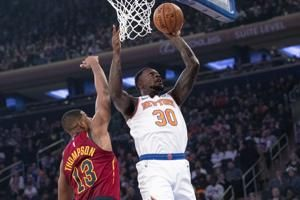 Cavaliers post wire-to-wire victory over Knicks