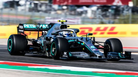 Valtteri Bottas Wins Pole For U.S. Grand Prix, While Lewis Hamilton Will Chase Title From Fifth