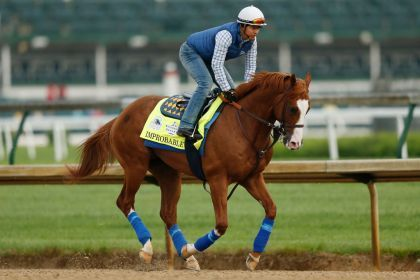 Improbable Looks To Give Bob Baffert Record-Breaking Eighth Preakness Win