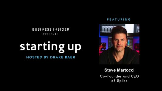 SIGN UP NOW: Lessons in pitching, leading, and building a company from Steve Martocci, the serial entrepreneur who sold GroupMe for $85 million when he was just 27 - and has raised more than $100 million for his new music startup Splice