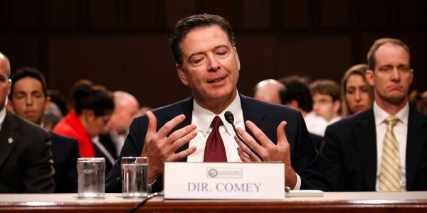 DOJ watchdog opens investigation into leaked Comey memos containing information that is now classified