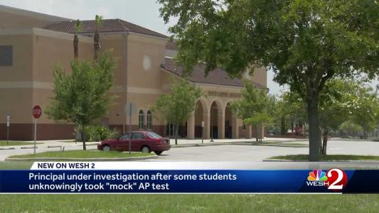 Principal under investigation after some students unknowingly took 'mock' AP test, officials say