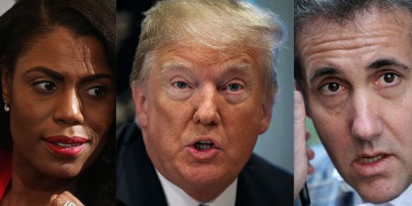 Omarosa and Michael Cohen made secret recordings of Trump - and fellow officials are reportedly wondering if anyone else did too