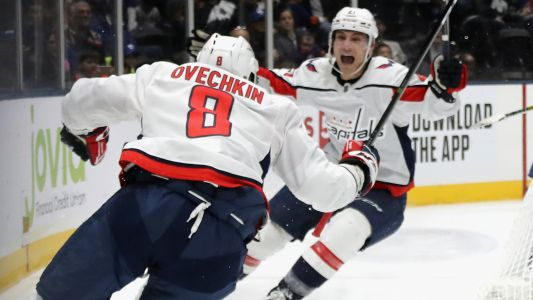 Washington Capitals' Alex Ovechkin ties Steve Yzerman for ninth place on all-time goal scoring list