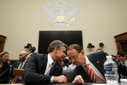 Rosenstein, Wray face angry House Republicans in hearing amid clash over documents