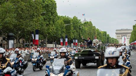 France cancels Bastille Day military parade on July 14, replaces it with Paris ceremony