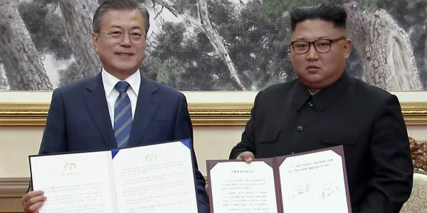 The US looks like the third-wheel after North Korea and South Korea agree to take steps toward denuclearization