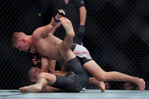 After relief of first UFC win in Vancouver, Austin Hubbard wants on D.C. card