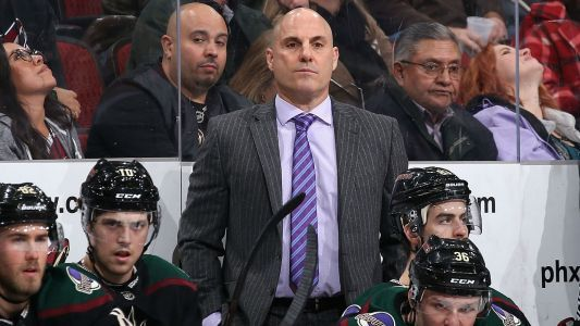 Arizona Coyotes' Rick Tocchet replaces fired Gerard Gallant as Pacific Division coach at NHL All-Star Game