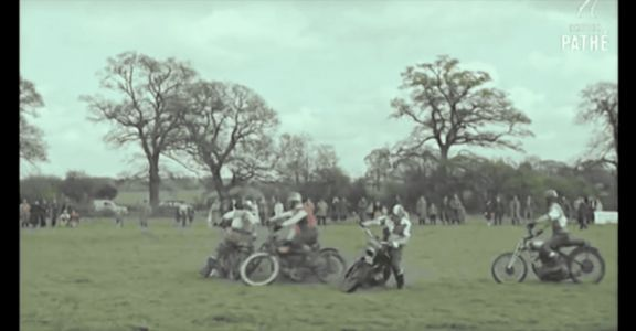Watch These Wild Souls Play Soccer on Motorcycles in 1959