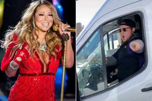 FedEx driver caught slaying Mariah Carey's 'All I Want For Christmas'