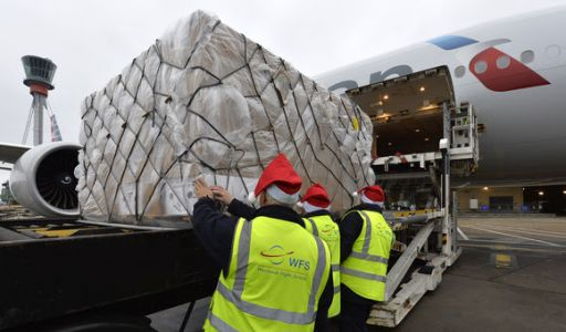 Heathrow's cargo stockings full to the brim
