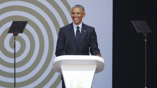 Transcript: Obama's Speech At The 2018 Nelson Mandela Annual Lecture