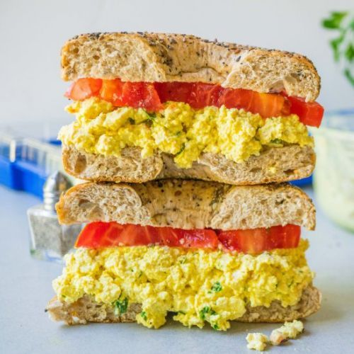 The Best Vegan Egg Salad Ever!
