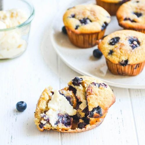 Blueberry-Corn Muffins