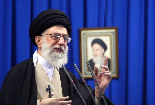 Iran's Supreme Leader blasts 'American clowns' as he leads Friday prayers for first time in 8 years