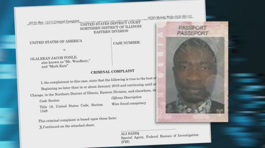 Feds: Nigerian scammer arrested in $50M scheme that targeted Chicago companies