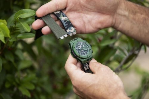 Hublot Releases New Watch to Raise Funds for Endangered Rhinos