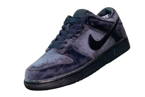 Dover Street Market and Nike's Velour-Covered Dunk Low Appears in Black