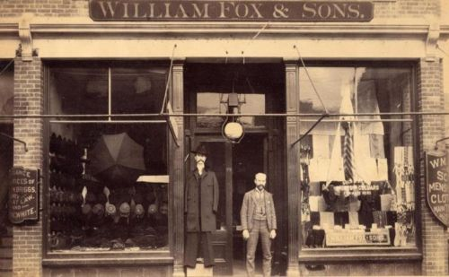 William Fox & Son's brings back menswear