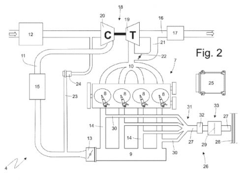 Ferrari Files Patent Application for a Ridiculous Intake Amplification System