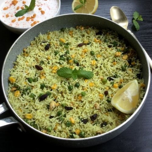 Mint Lemon Rice