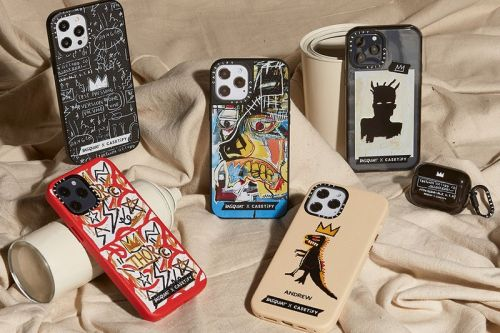 CASETiFY Teams up With Basquiat Estate to Launch Tech Accessories