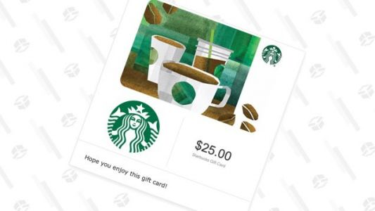 Give a $25 Starbucks Gift Card, Get a $5 Amazon Credit For Yourself